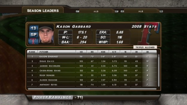 Major League Baseball 2K8 Screenshot #207 for Xbox 360