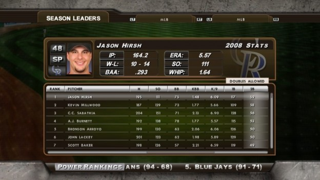 Major League Baseball 2K8 Screenshot #208 for Xbox 360