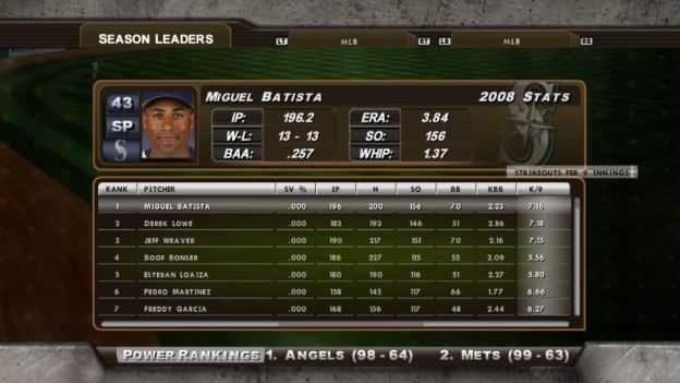 Major League Baseball 2K8 Screenshot #210 for Xbox 360