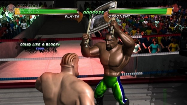 Hulk Hogan's Main Event Screenshot #1 for Xbox 360