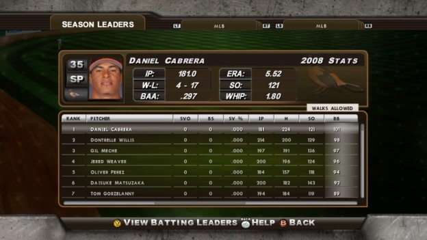 Major League Baseball 2K8 Screenshot #212 for Xbox 360