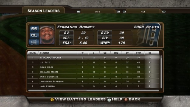 Major League Baseball 2K8 Screenshot #216 for Xbox 360