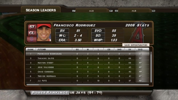 Major League Baseball 2K8 Screenshot #217 for Xbox 360