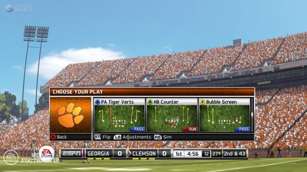 NCAA Football 12 Screenshot #315 for Xbox 360