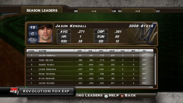 Major League Baseball 2K8 Screenshot #226 for Xbox 360