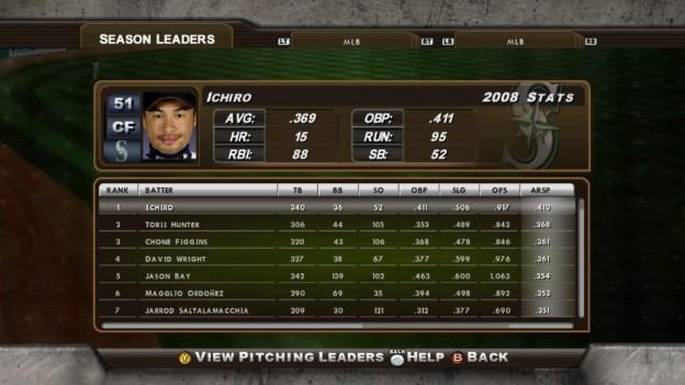 Major League Baseball 2K8 Screenshot #229 for Xbox 360