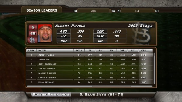 Major League Baseball 2K8 Screenshot #230 for Xbox 360