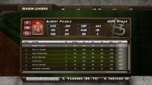 Major League Baseball 2K8 Screenshot #231 for Xbox 360