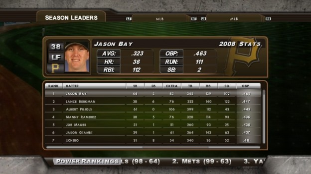 Major League Baseball 2K8 Screenshot #232 for Xbox 360
