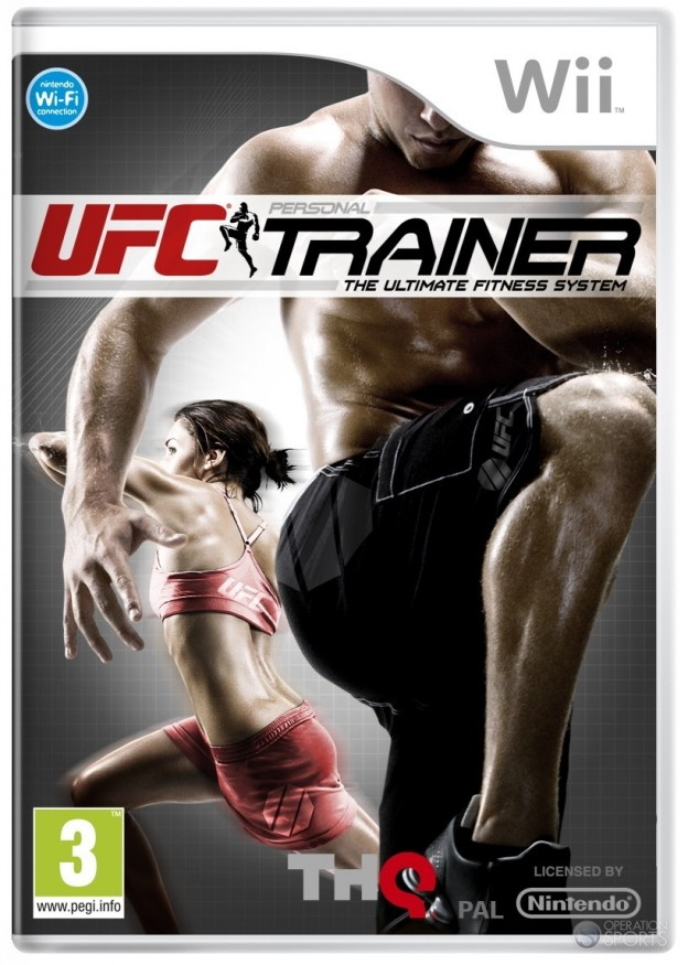 UFC Personal Trainer Screenshot #1 for Wii