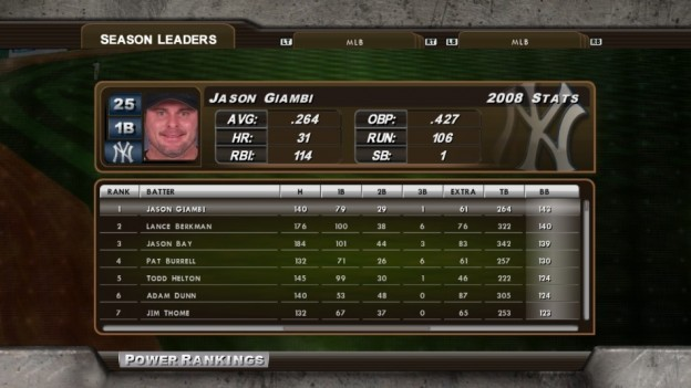 Major League Baseball 2K8 Screenshot #234 for Xbox 360