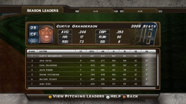 Major League Baseball 2K8 Screenshot #237 for Xbox 360