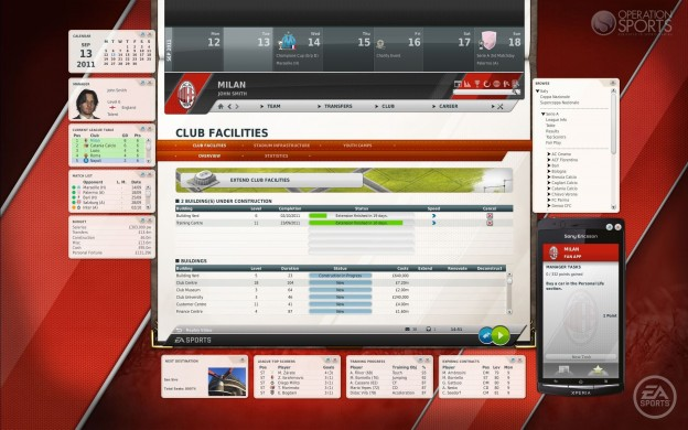 FIFA Manager 12 Screenshot #6 for PC