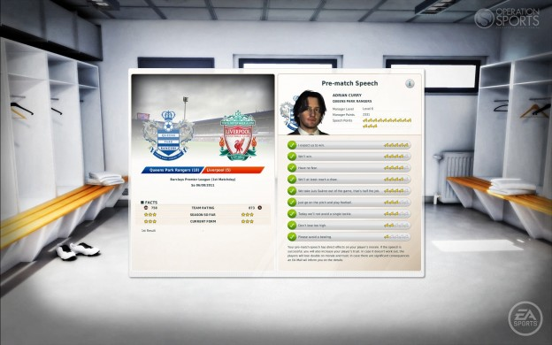 FIFA Manager 12 Screenshot #9 for PC