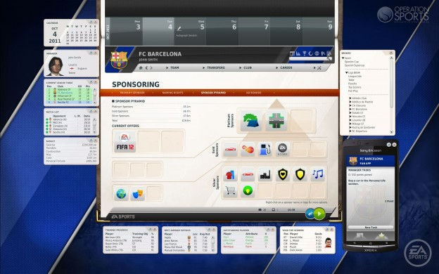 FIFA Manager 12 Screenshot #10 for PC