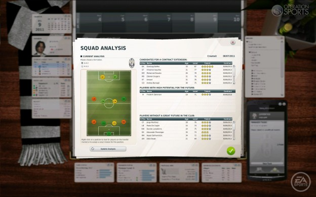 FIFA Manager 12 Screenshot #11 for PC