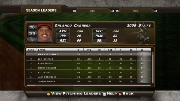 Major League Baseball 2K8 Screenshot #241 for Xbox 360