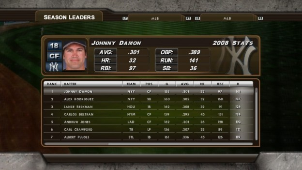 Major League Baseball 2K8 Screenshot #243 for Xbox 360