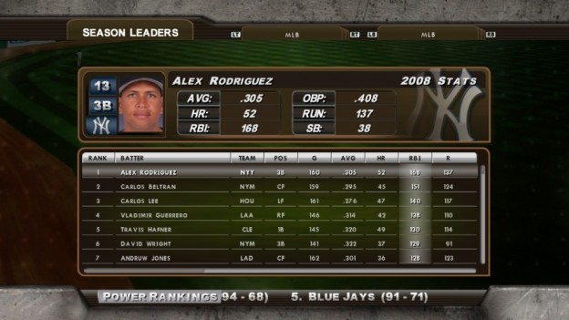 Major League Baseball 2K8 Screenshot #244 for Xbox 360