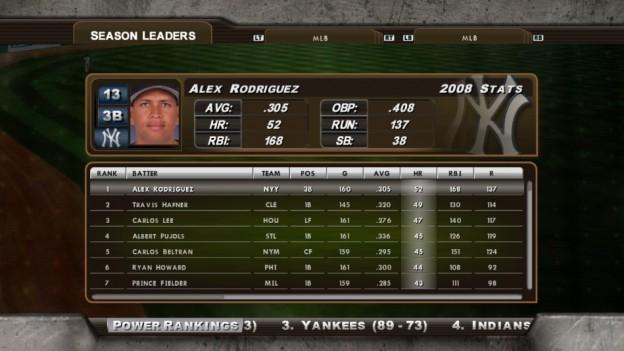 Major League Baseball 2K8 Screenshot #245 for Xbox 360