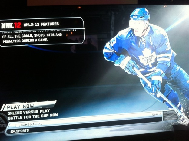 NHL 12 Screenshot #39 for Xbox 360
