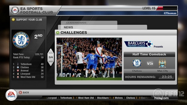 FIFA Soccer 12 Screenshot #41 for Xbox 360