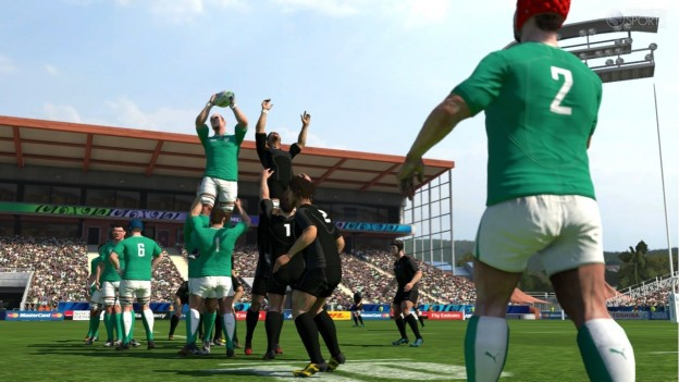 Rugby World Cup 2011 Screenshot #1 for Xbox 360