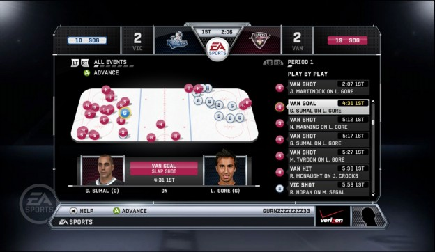 NHL 12 Screenshot #40 for Xbox 360