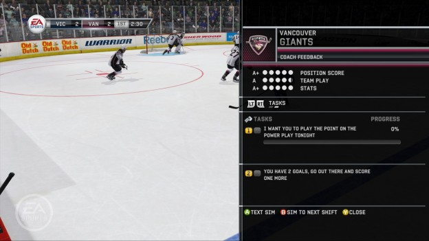 NHL 12 Screenshot #41 for Xbox 360
