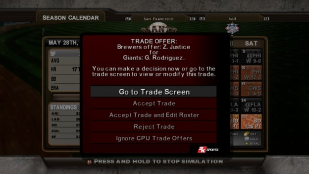 Major League Baseball 2K8 Screenshot #255 for Xbox 360