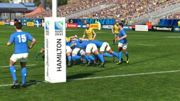 Rugby World Cup 2011 Screenshot #2 for Xbox 360