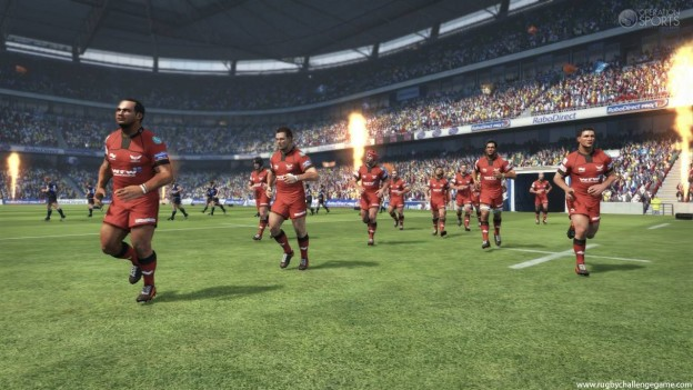 Rugby Challenge Screenshot #1 for Xbox 360