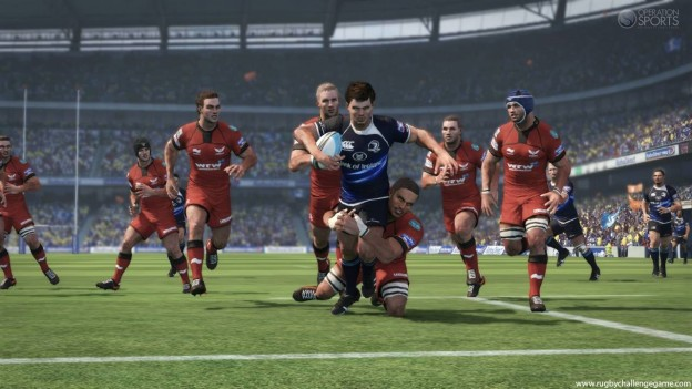 Rugby Challenge Screenshot #2 for Xbox 360