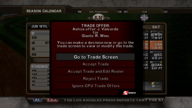 Major League Baseball 2K8 Screenshot #256 for Xbox 360
