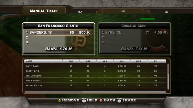 Major League Baseball 2K8 Screenshot #257 for Xbox 360