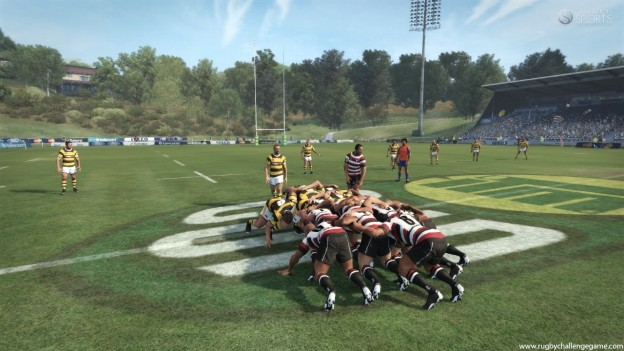 Rugby Challenge Screenshot #16 for Xbox 360