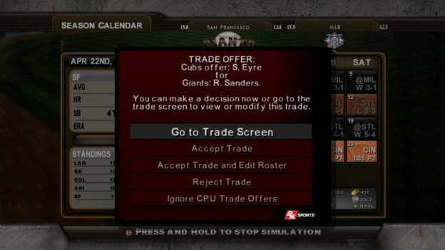 Major League Baseball 2K8 Screenshot #258 for Xbox 360