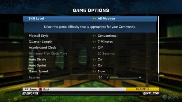 Madden NFL 12 Screenshot #325 for Xbox 360