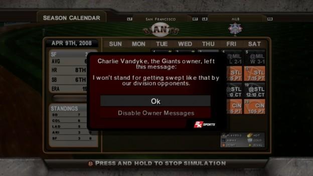 Major League Baseball 2K8 Screenshot #261 for Xbox 360