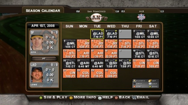 Major League Baseball 2K8 Screenshot #262 for Xbox 360