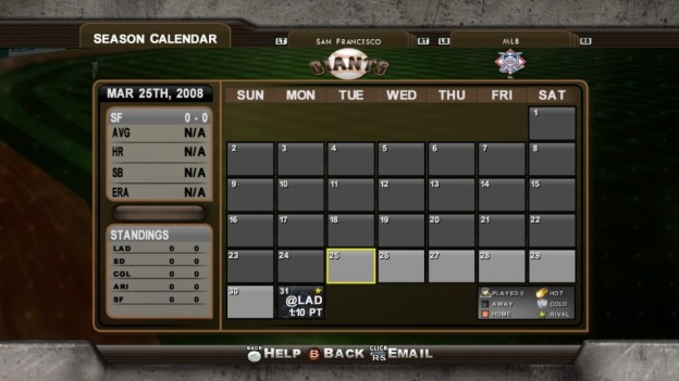 Major League Baseball 2K8 Screenshot #263 for Xbox 360