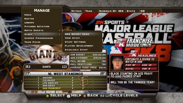 Major League Baseball 2K8 Screenshot #266 for Xbox 360