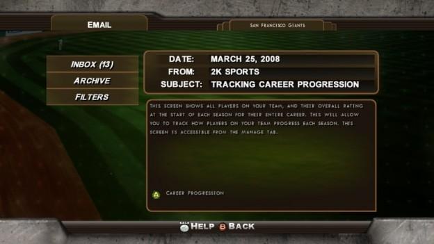 Major League Baseball 2K8 Screenshot #268 for Xbox 360