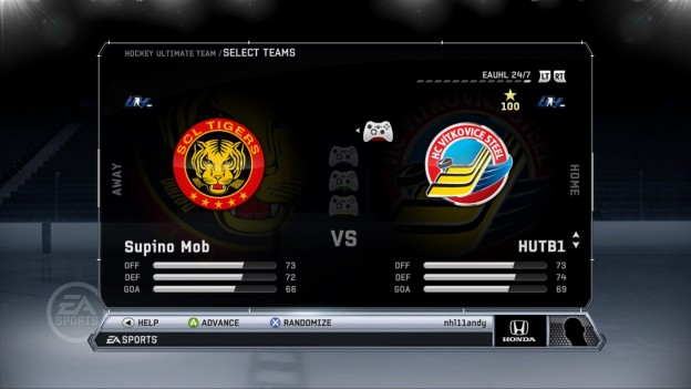 NHL 12 Screenshot #44 for Xbox 360