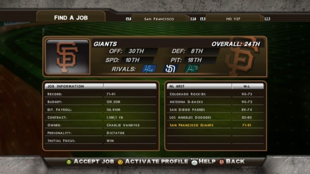 Major League Baseball 2K8 Screenshot #280 for Xbox 360
