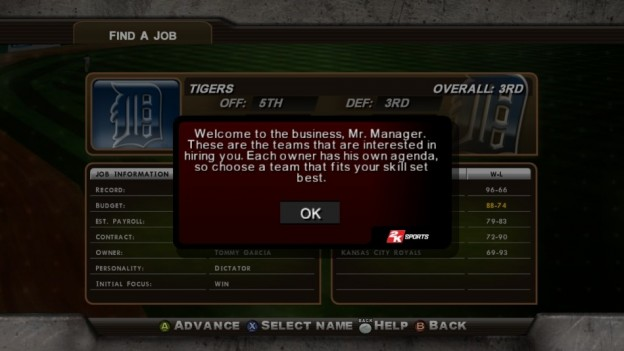 Major League Baseball 2K8 Screenshot #281 for Xbox 360