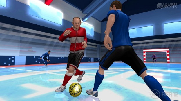 FIFA Soccer 12 Screenshot #2 for Wii