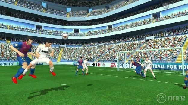 FIFA Soccer 12 Screenshot #3 for Wii
