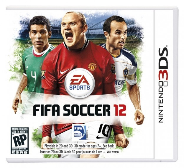 FIFA Soccer 12 Screenshot #1 for 3DS