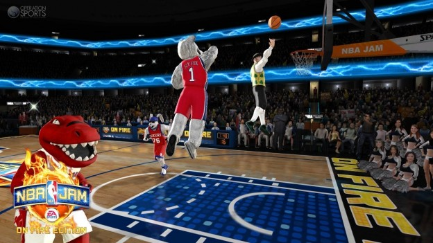 NBA JAM: On Fire Edition Screenshot #26 for Xbox 360